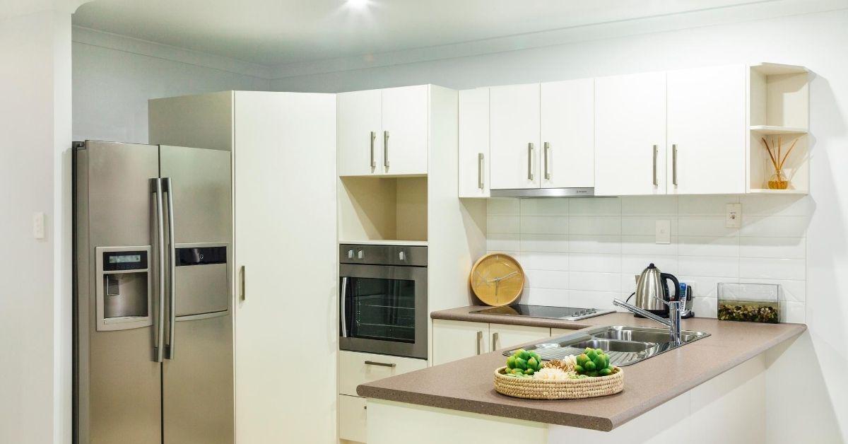 cucina con penisola